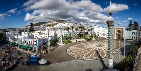 摩洛哥西北部城市得土安