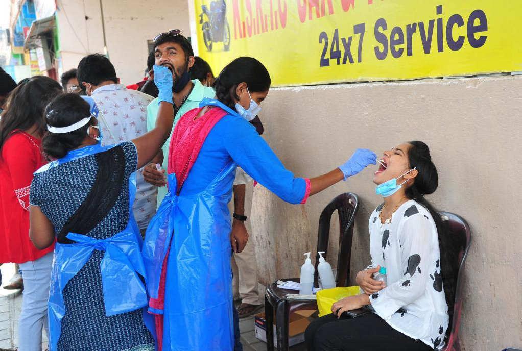 印度单日新增新冠病例破15万