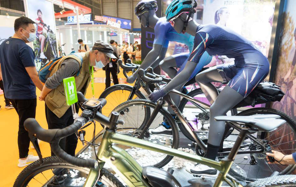 第30届中国国际自行车展览会开幕