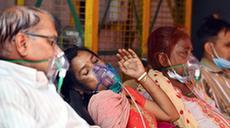 印度:单日新增新冠确诊病例再超40万