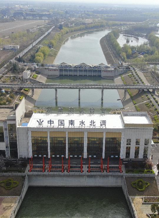 新华全媒+|镜观中国|南水北调展画卷