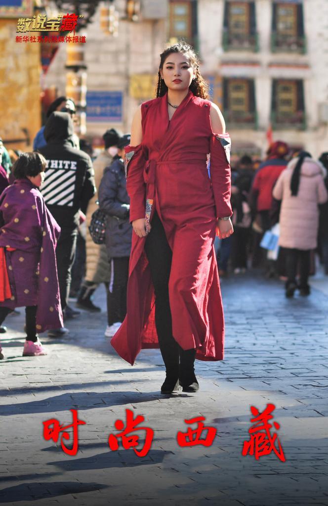 """从""""一衣多季""""到""""一季多衣"""",西藏人民穿着越来越时尚"""