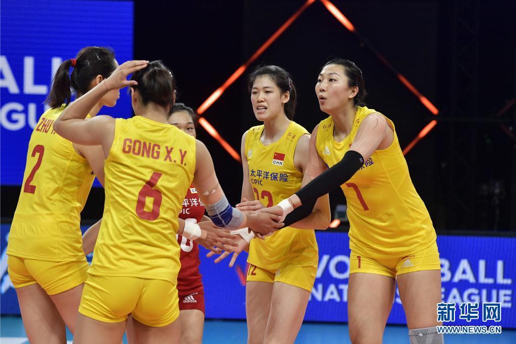 主力终于集齐 中国女排3:0横扫荷兰队
