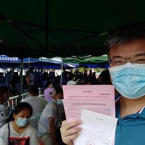 福建台胞:积极接种大陆疫苗 呼吁台当局为民着想