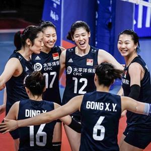 世界女排联赛丨中国女排七连胜收官
