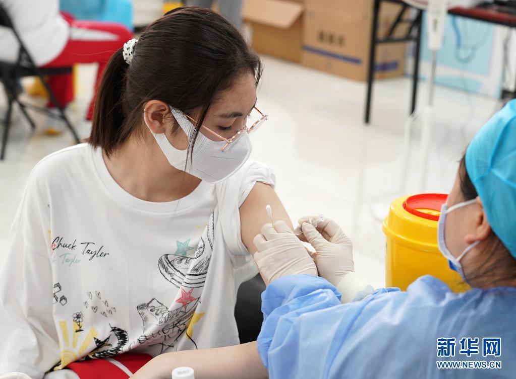 北京有序开展12岁至17岁人群新冠病毒疫苗接种工作
