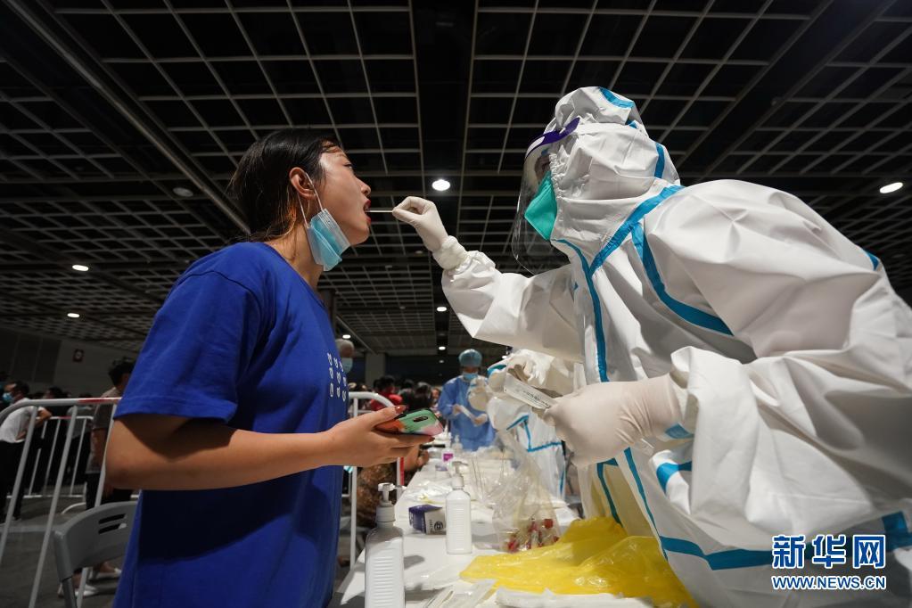 南京全市开展核酸检测 新增六地为中风险地区