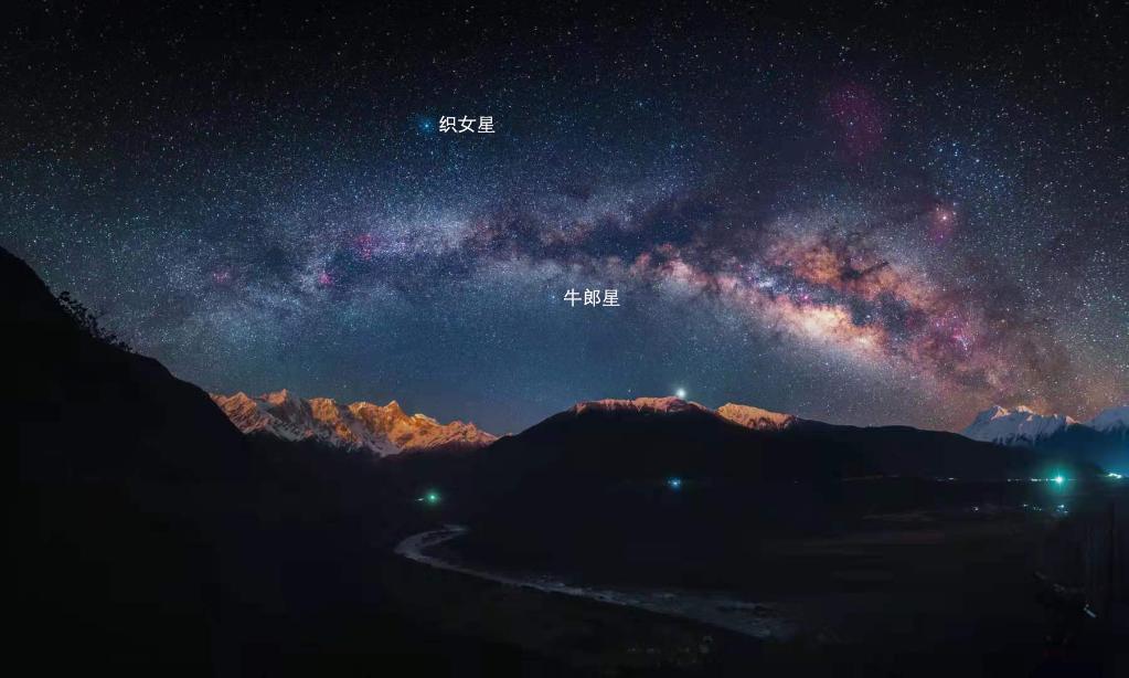 七夕浪漫夜,如何寻找牛郎星和织女星?