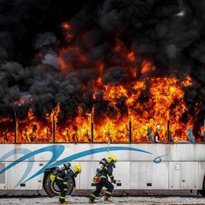 火场探案 破题猎凶——全国多地消防刑侦勇士云南弥勒比武