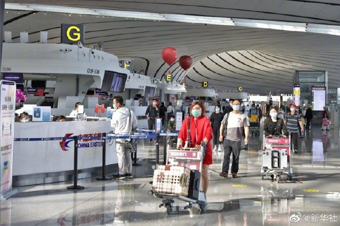 大兴机场年旅客吞吐量首次突破2000万人次