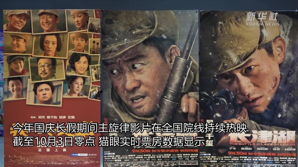 主旋律影片领跑国庆档电影市场