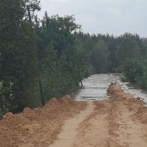 汾河山西河津段迎来67年来最大洪水 当地决定启用黄河滩地蓄滞洪水